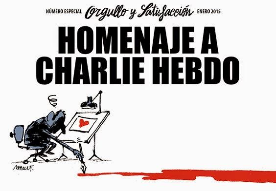 Homenaje a Charlie Hebdo - Orgullo y satisfacción