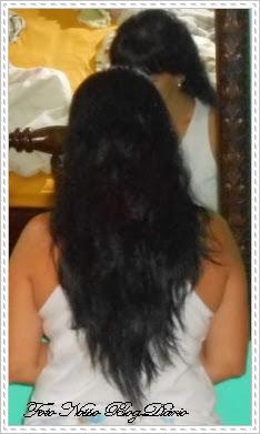 Preparando para o penteado Foto Nosso Blog Diário Dulcinéia de Sá