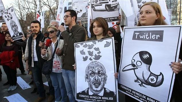 La Turquie bloque twitter et les DNS de Google