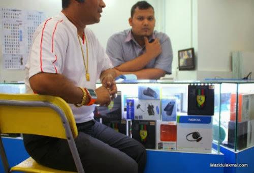 Besar Kepala- Tauke Bangla Menipu Pelanggan di Plaza Low Yat