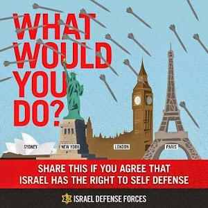 Israel está sob fogo dos terroristas e dos media