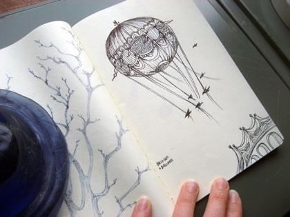 10 Inspirational Sketchbook Drawings ~ Inspiring Print