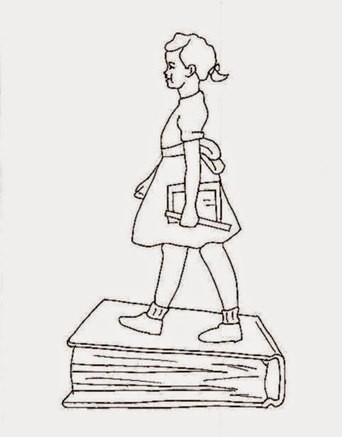 Ruby Bridges Coloring Sheets | Free Coloring Sheet