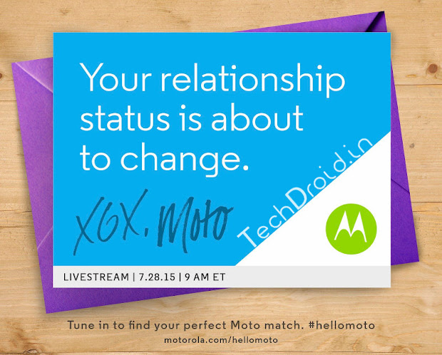 Motorola Event Invite