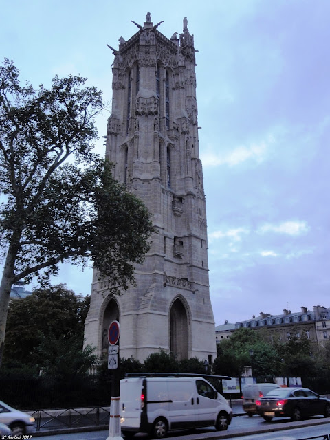 Saint-Jacques de la Boucherie tower