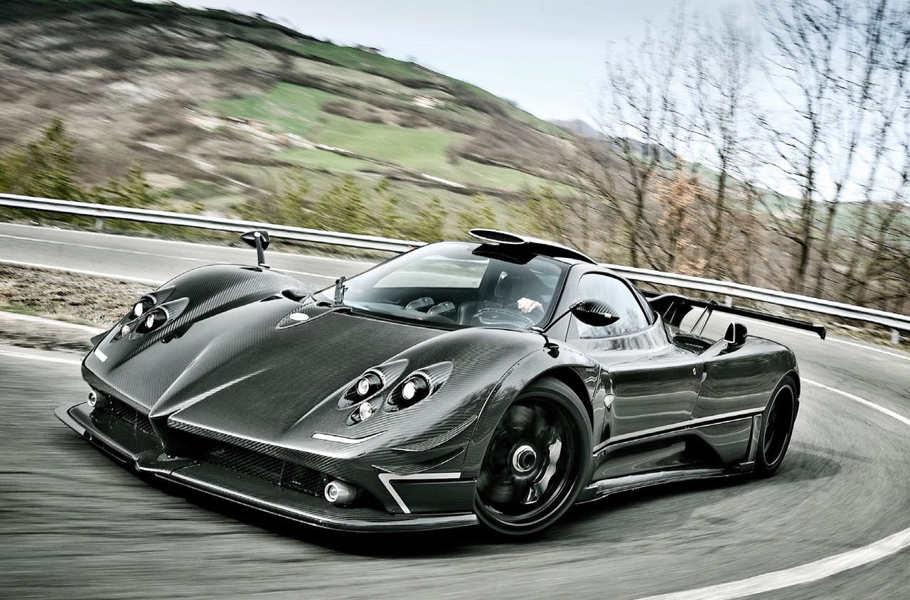 all 'bout cars: pagani zonda 760 rs