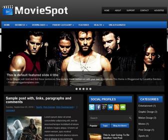 MovieSpot 3 Column Blogger Template