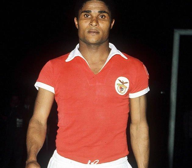 Eusébio é o sexto artilheiro da história do futebol