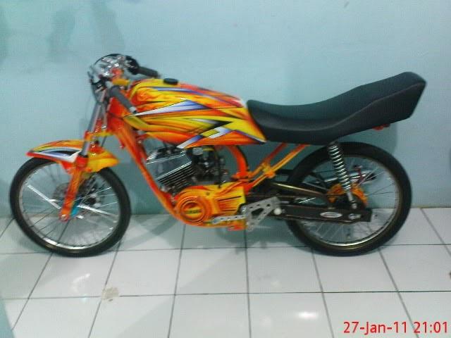korek harian rx king korek motor