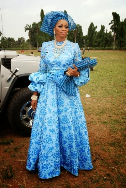 2014 Sky Blue Nigeria Ankara Fashion Styles Debonke House Of Fashion
