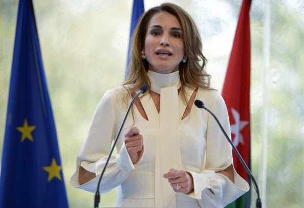 Queen Rania At The Medef Summer 2015 University Conference