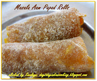 Ripe mango rolls, cooked and sun dried | Mango recipe