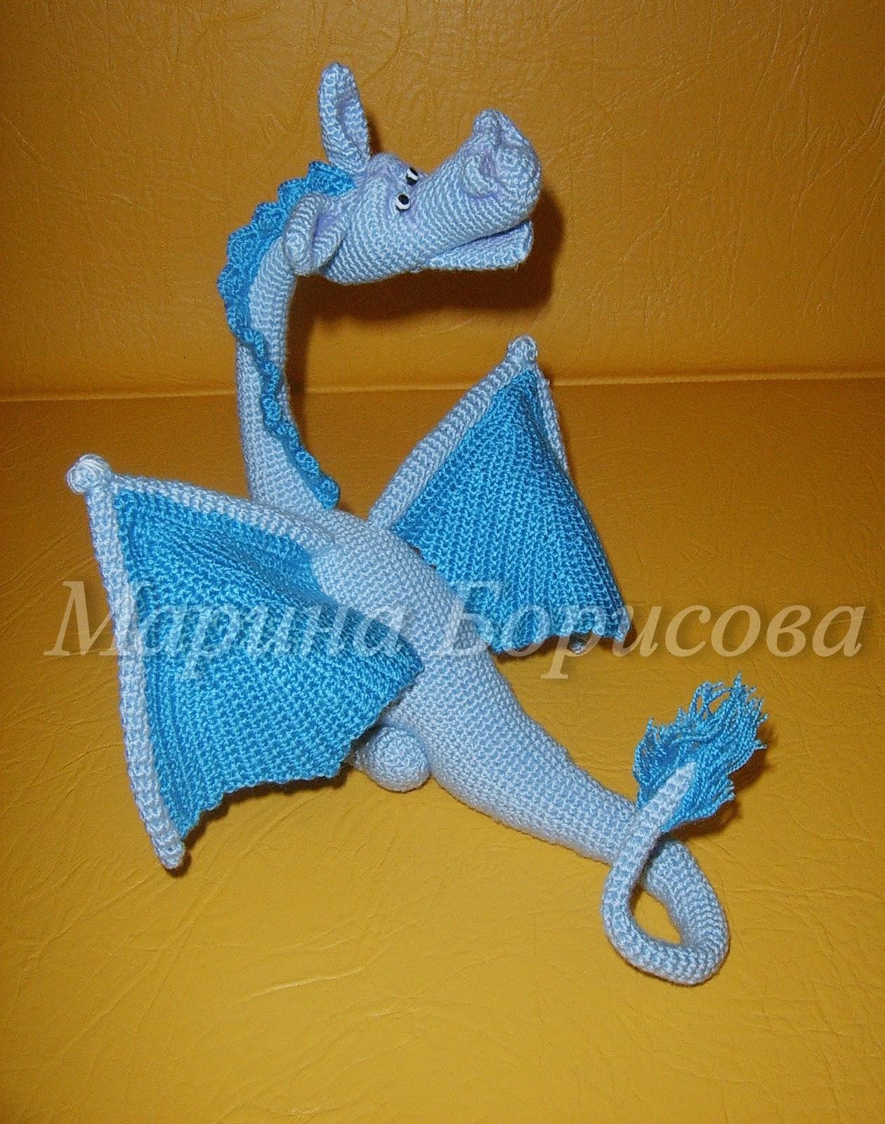 Вязание крючком от марины борисовой