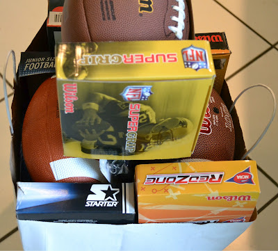Footballs, Sports, Donation, Cleats, Whistles