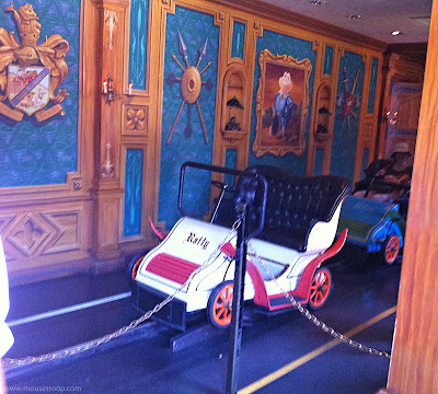 Mr. Toad's Wild Ride remodel new Fantasyland Disneyland dark ride