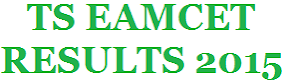 TS EAMCET RESULTS 2015