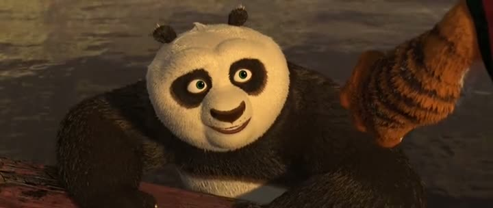 Screen Shot Of Kung Fu Panda 2 (2011) Dual Audio Movie 300MB small Size PC Movie