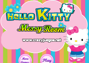Jugar Hello kitty Messy Room