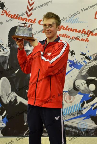Pitchford has won national singles titles at U14, Cadet, U21 and ...