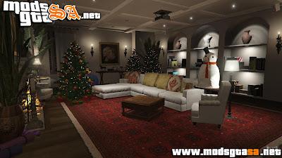 Decorações de Natal Para Casa de Michael para GTA V PC