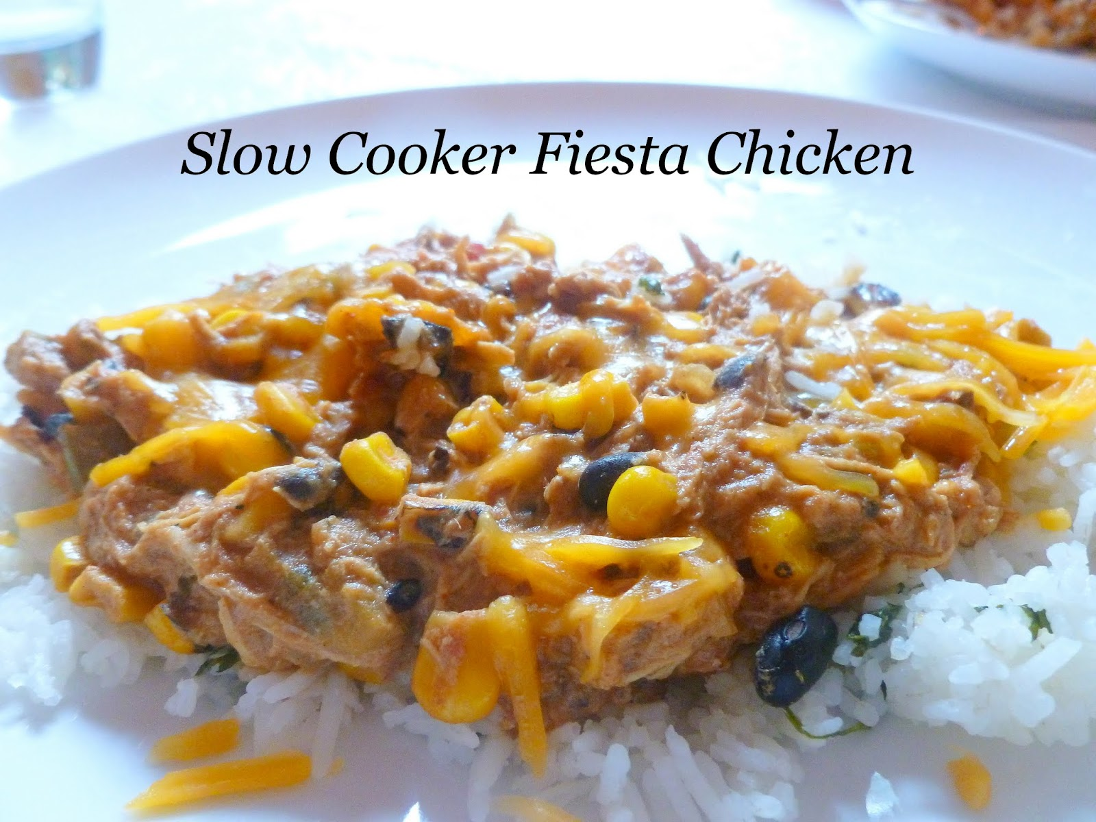 My So-Called (Mommy) Life: Slow Cooker Fiesta Chicken