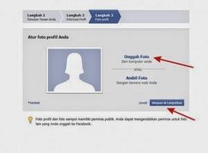 Langkah Ketiga Cara Membuat Facebook Tampilkan Foto Profil