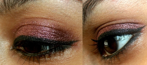 Maybelline Color Tattoo Cream Eye Shadow in Pomegranate Punk EOTD