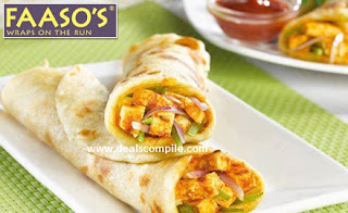 Faasos Food Ordering of Rs 300 food in just Rs 25