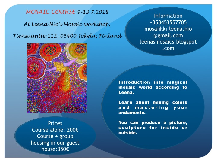 Mosaic summer course