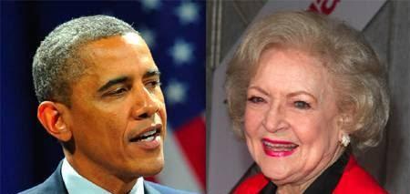 Progressive Soup: President Obama Wishes Betty White Happy Birthday