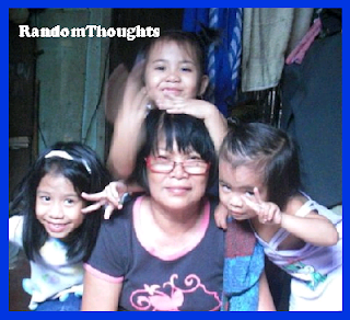Three Kids with their granny