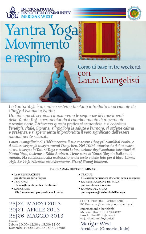 Yoga movimento e respiro- 23-24 marzo, 20-21 aprile, 25-26 maggio