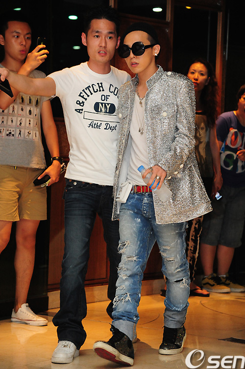 g-dragon dry finish party 2011