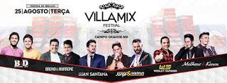 Villa Mix Festival Campo Grande