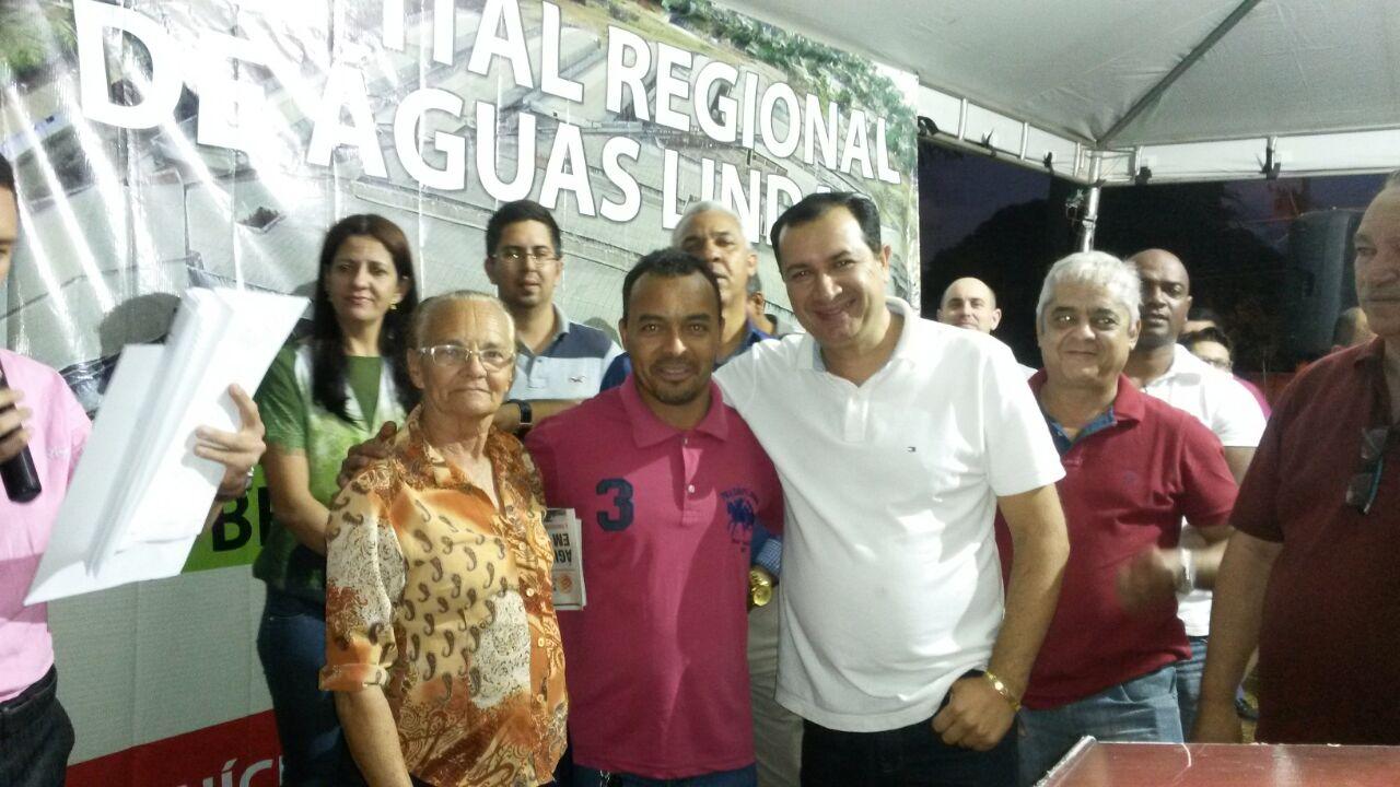 Célio Macedo e sua mae estão quase sempre presente  em eventos do governo HC