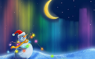 Happy Snowman HD Wallpaper