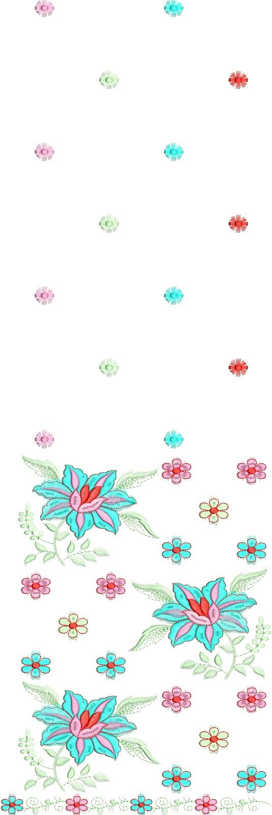 Embdesigntube daman embroidery desings free download