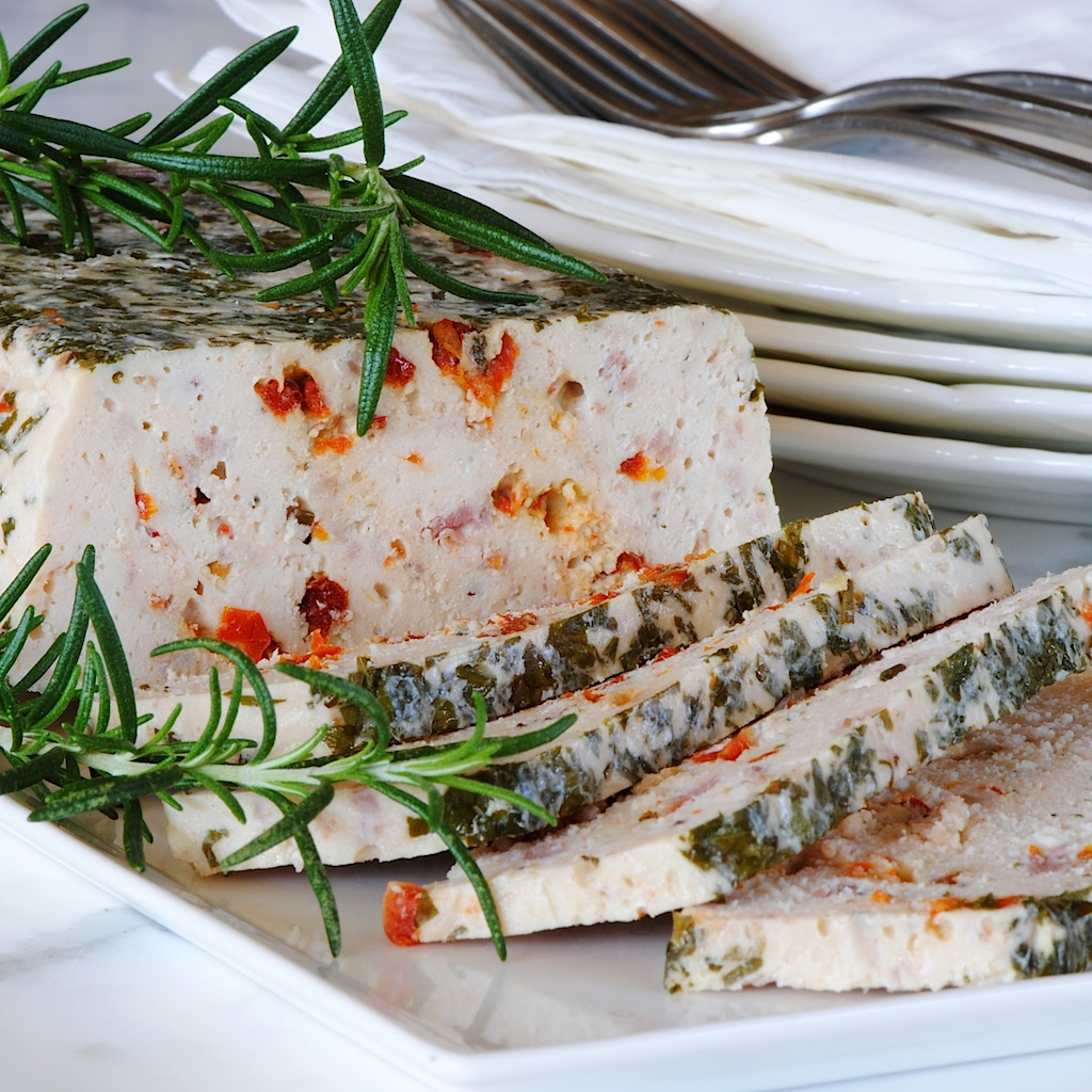 JULES FOOD...: Chicken Terrine with Bacon and Sun Dried ...