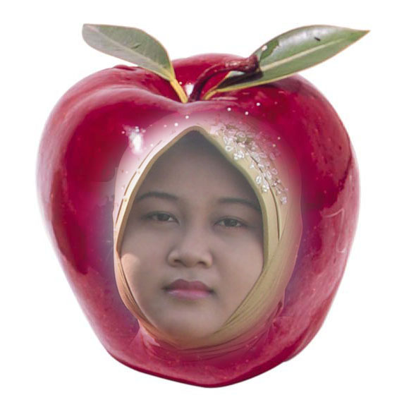 Apple Woman dengan Photoshop