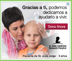 ACERCA DE ST. JUDE (Anuncio patrocinado por la Edición Internacional Paladines).