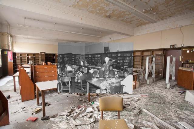 Escuela abandonada en Detroit