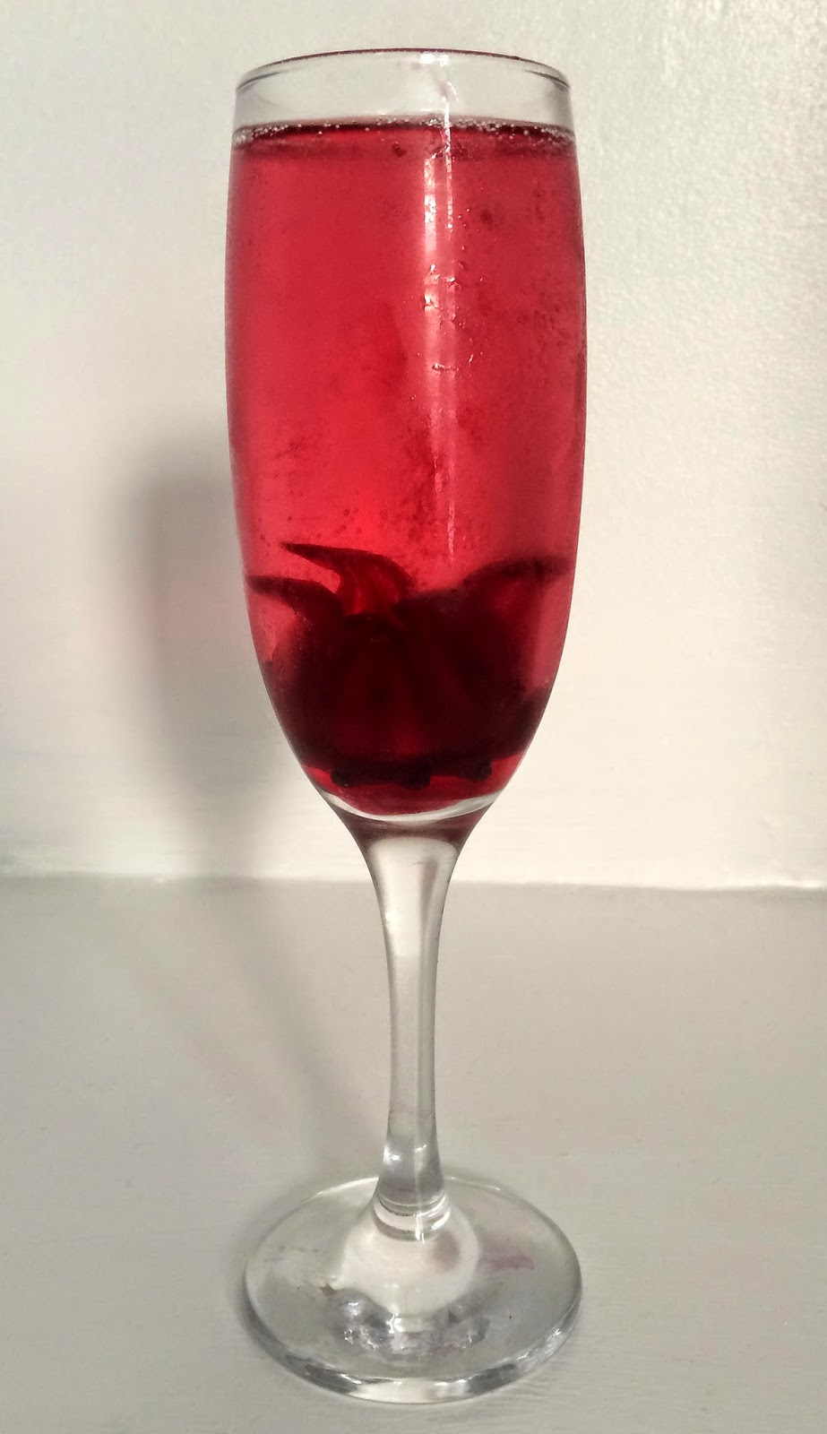 Pretty Luscious Things Wild Hibiscus Flowers With Prosecco