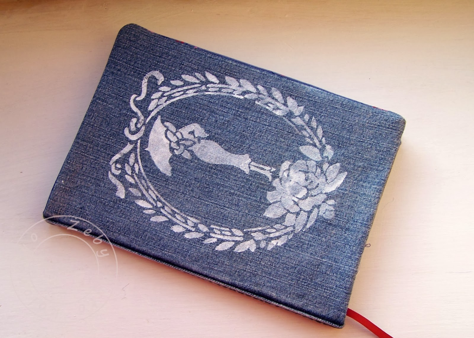sewing book cover