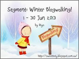 SEGMENT: WINTER BLOGWALKING BY MYA