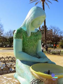 Fuente de la Palomas 2 - Plaza de América - Sevilla