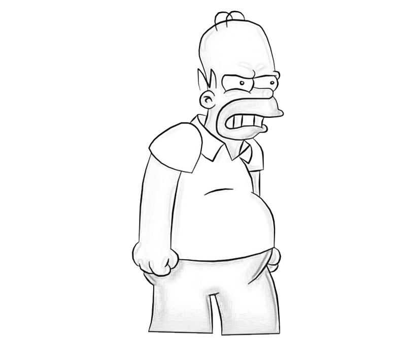printable-homer-simpson-look_coloring-pages