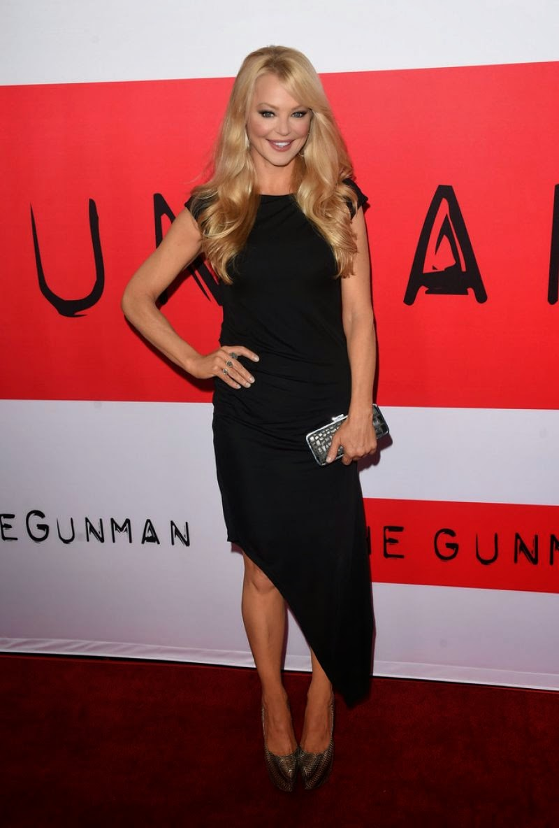 Actress, Singer @ Charlotte Ross At The Gunman Premiere In Los Angeles