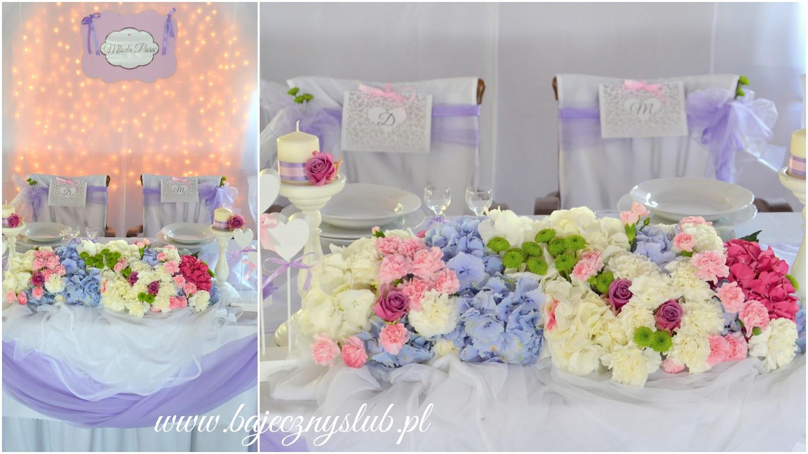 Bajeczny ślub świdnica Dekoracje Sal Weselnych Jaworzyna śląska