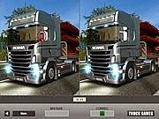Game tìm điểm khác của xe tải, chơi game tim diem khac nhau