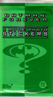 Wrapper for Batman Forever Movie Photo Stickers